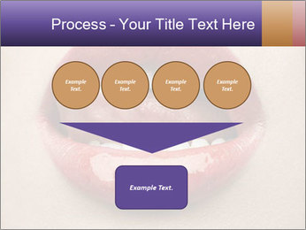 Sexy Lips PowerPoint Template - Slide 93