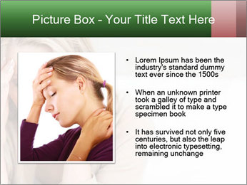 Woman suffering PowerPoint Template - Slide 13