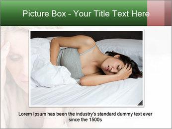 Woman suffering PowerPoint Template - Slide 15