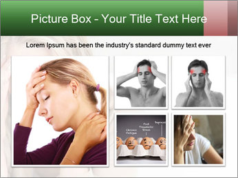 Woman suffering PowerPoint Templates - Slide 19