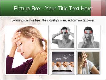 Woman suffering PowerPoint Template - Slide 19