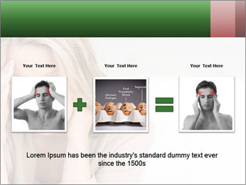 Woman suffering PowerPoint Templates - Slide 22