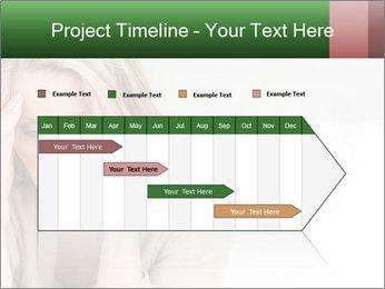 Woman suffering PowerPoint Template - Slide 25
