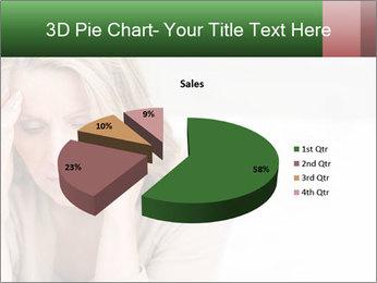 Woman suffering PowerPoint Template - Slide 35
