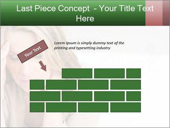 Woman suffering PowerPoint Template - Slide 46