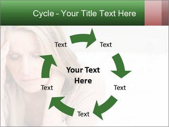 Woman suffering PowerPoint Template - Slide 62