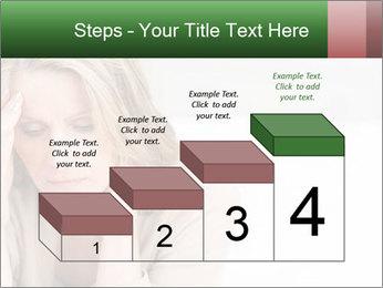 Woman suffering PowerPoint Template - Slide 64