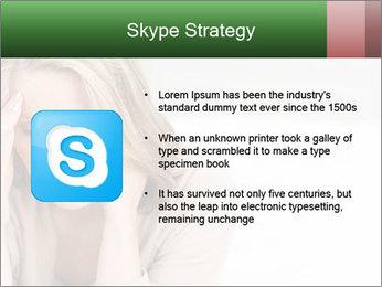 Woman suffering PowerPoint Template - Slide 8