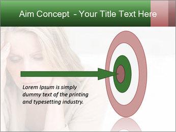 Woman suffering PowerPoint Template - Slide 83