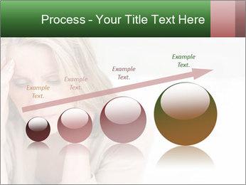 Woman suffering PowerPoint Template - Slide 87