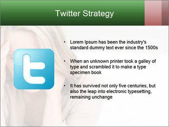 Woman suffering PowerPoint Template - Slide 9