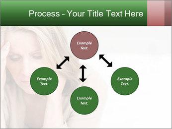 Woman suffering PowerPoint Template - Slide 91