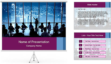 Presentation team PowerPoint Template