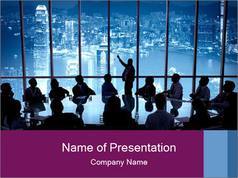 Presentation team PowerPoint Template