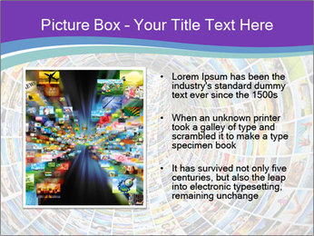 Tunnel of media PowerPoint Template - Slide 13