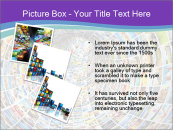 Tunnel of media PowerPoint Template - Slide 17