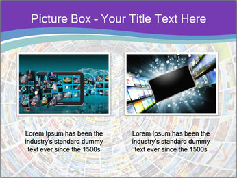Tunnel of media PowerPoint Template - Slide 18