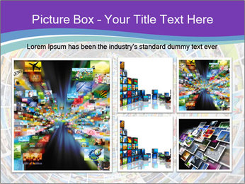 Tunnel of media PowerPoint Template - Slide 19