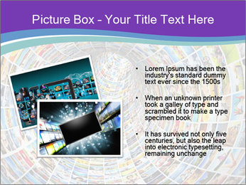 Tunnel of media PowerPoint Template - Slide 20
