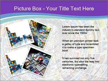 Tunnel of media PowerPoint Template - Slide 23