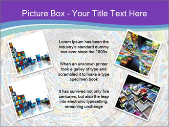 Tunnel of media PowerPoint Template - Slide 24