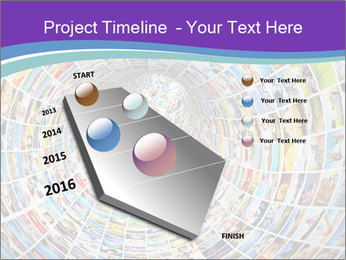 Tunnel of media PowerPoint Template - Slide 26