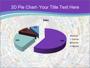Tunnel of media PowerPoint Template - Slide 35