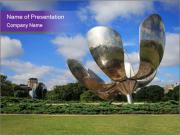 Floralis Generica PowerPoint Templates