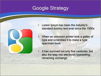 Floralis Generica PowerPoint Template - Slide 10