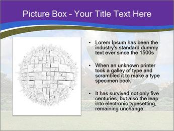 Floralis Generica PowerPoint Template - Slide 13