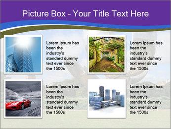 Floralis Generica PowerPoint Template - Slide 14
