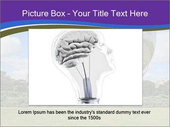 Floralis Generica PowerPoint Template - Slide 15