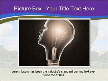 Floralis Generica PowerPoint Template - Slide 16