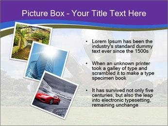 Floralis Generica PowerPoint Template - Slide 17