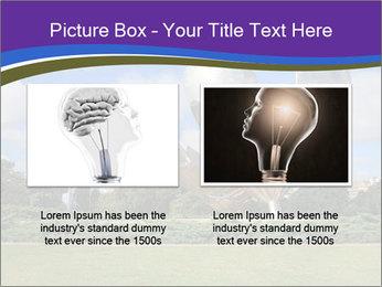 Floralis Generica PowerPoint Template - Slide 18