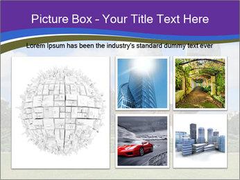 Floralis Generica PowerPoint Template - Slide 19
