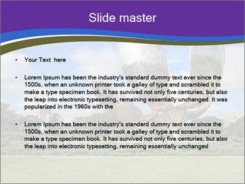Floralis Generica PowerPoint Template - Slide 2