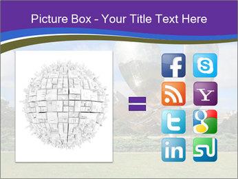 Floralis Generica PowerPoint Template - Slide 21