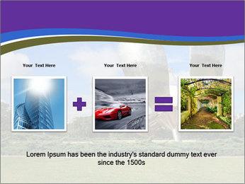 Floralis Generica PowerPoint Template - Slide 22