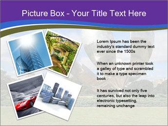 Floralis Generica PowerPoint Template - Slide 23