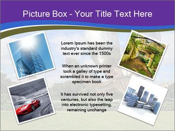 Floralis Generica PowerPoint Template - Slide 24