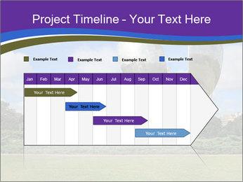 Floralis Generica PowerPoint Template - Slide 25