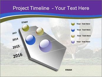 Floralis Generica PowerPoint Template - Slide 26