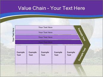Floralis Generica PowerPoint Template - Slide 27
