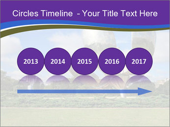 Floralis Generica PowerPoint Template - Slide 29