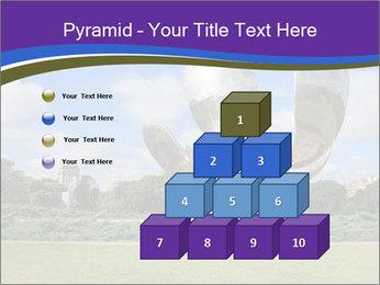 Floralis Generica PowerPoint Template - Slide 31