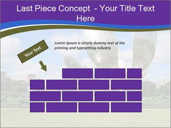 Floralis Generica PowerPoint Template - Slide 46