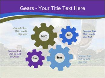 Floralis Generica PowerPoint Template - Slide 47