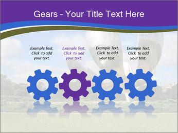 Floralis Generica PowerPoint Template - Slide 48