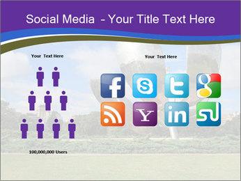 Floralis Generica PowerPoint Template - Slide 5